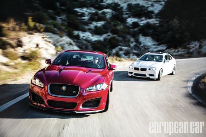 2012 Jaguar Xfr Vs 2013 Bmw M5 Themotorcyclepedia The Best